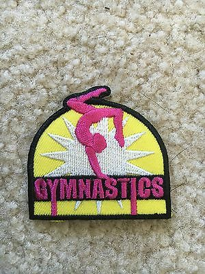 Gymnastics- Girl Scout Fun Patch
