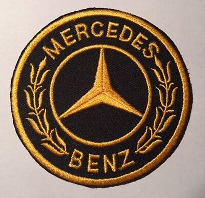M Benz Iron On / Sew On Badge