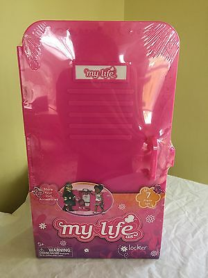NEW My Life As Doll Storage Locker Store Clothes Accessories 7 Piece Set