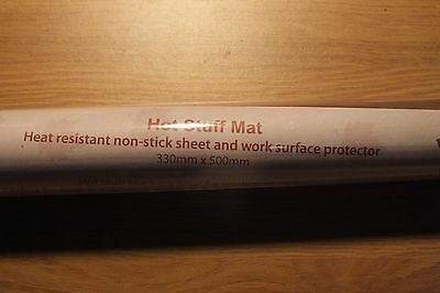 Heat resistant non-stick sheet and surface protector by woodware