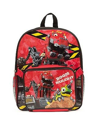 DinoTrux Backpack with Lunch Kit. Brand New