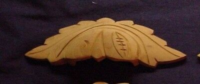 """FREE SHIP One NEW Vintage Victorian Style Wood Hand Carved 6-1/2"""" Drawer Handle"""