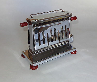 RARE Vintage Antique OMEGA Toaster with Rare Applied Toast Rack