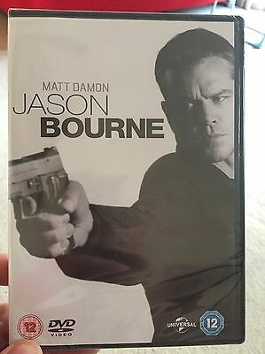 Jason Bourne DVD Brand New And Sealed