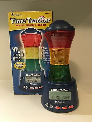 Time Tracker - Visual Timer & Clock - Learning Resources - Classroom Homeschool