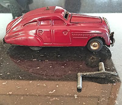 OLD TIN PLATE TOY SCHUCO KOMMANDO COMMAND  CAR 2000 1930s/40s