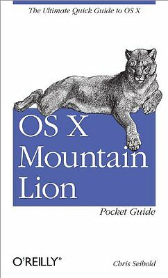 OS X Mountain Lion Pocket Guide Copertina flessibile