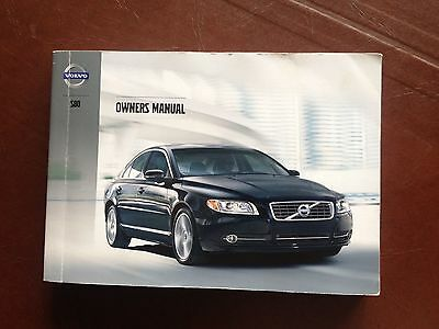 Volvo S80 Owners Manual  Handbook  2013 2015  432 Pages