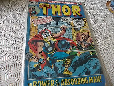Thor 206.Marvel 70s issue