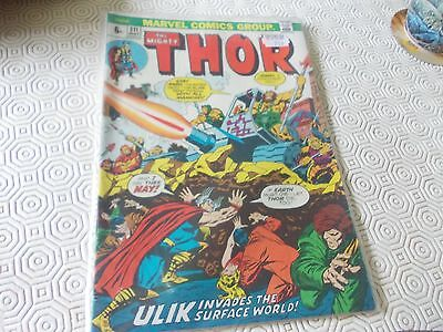 Thor 211.Marvel 70s issue