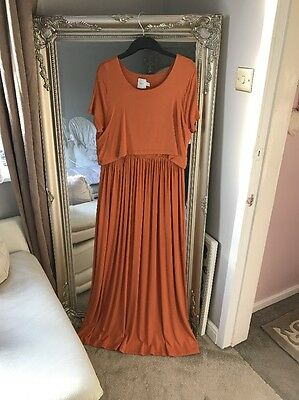 Asos Maternity & Nursing Maxi Dress Size 16