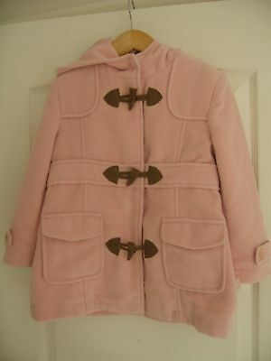 Immaculate. Worn Once.Fully lined Pink Pumpkin Patch Duffle Coat with Hood-Age 5