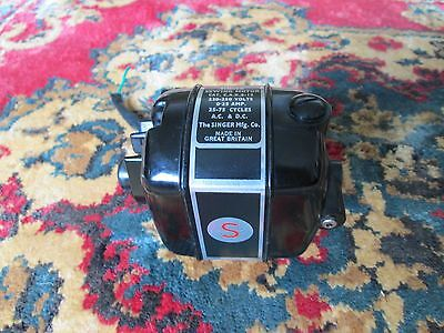 Singer 221K Sewing Machine Motor For Spares Or Repair Not Known If It Works