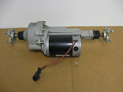 ADVANCE CONVERTAMATIC FLOOR SCRUBBER TRANSAXLE ASSEMBLY # 56315062 ONLY 330hr