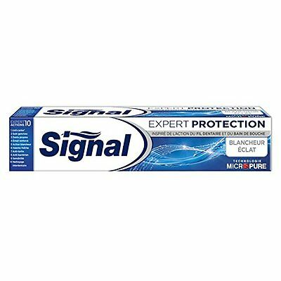 lot 3 dentifrices signal protection 75ml neuf