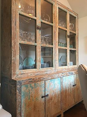Beautiful old distressed painted dresser