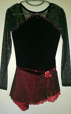 Ladies' Figure Skating Competition Dress size 8-10