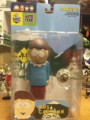Mirage South Park Series 3 Mrs. Cartman Action Figure 2004 Comedy Central