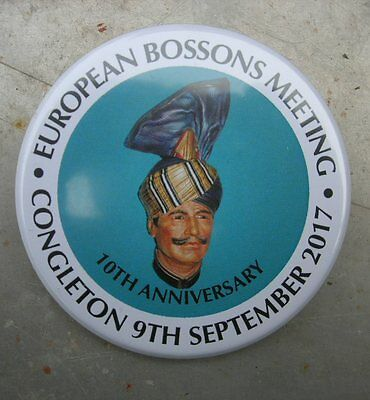 Bossons Badge for the Sept 2017 UK Collectors Meeting