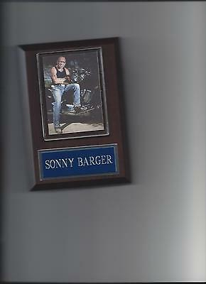 Sonny Barger Plaque Hells Angels Motorcycle Club