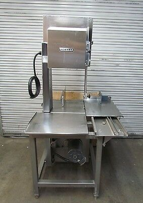 """Hobart 5801Meat Cutting Saw 142""""Blade 3HP Motor -Great Condition"""