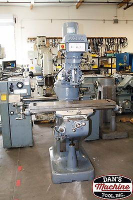 """Acra Variable Speed Milling Machine / 9"""" X 42""""  /  #246"""