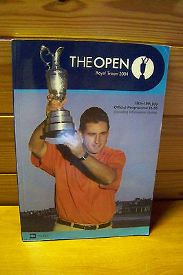 The Open Golf Programme  2004 Royal Troon