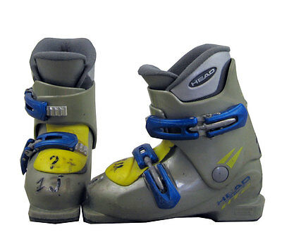 Head Carve HT Youth Rental Boots Mondo 21.5 Youth 3.5 - USED