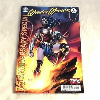 DC Comics Wonder Woman 75th Anniversary Special (2016) #1A Jim Lee Cover NEW