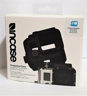 Incase Protective Case For GoPro Hero 3 / 3+, Hero 4 With BacPac Housing *NEW**