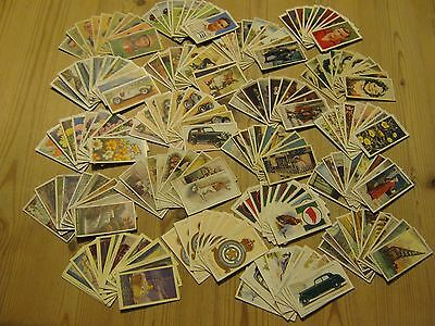200 assorted cigarette cards.