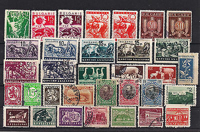 Bulgaria - Good lot of old stamps (ref 3051)