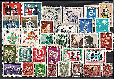 Bulgaria - Good lot of old stamps (ref 3056)