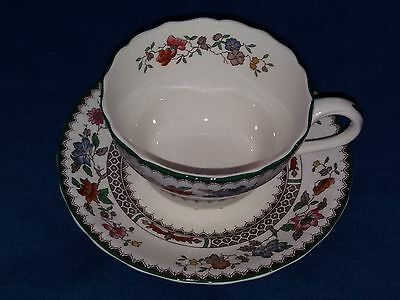 Vintage  Large  Copeland  Spode  Chinese Rose 2/9253J  Cup And  Saucer