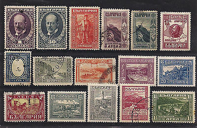 Bulgaria - Good lot of old stamps (ref 3077)