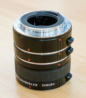 Kenko DG Auto Extension Tubes for Canon 36mm 20mm 12mm