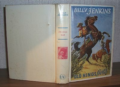 "Billy Jenkins-Buch  Nr. 77  ""Old Kings Gold""   (Zust. 2-3)"