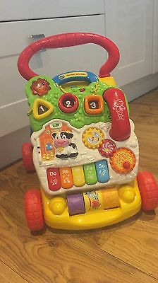 Vtech First Steps Baby Walker With Phone Excellent Condition