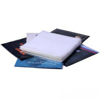 "100 x 12"" / LP Vinyl Record Sleeves 350 gauge PP COVERS Clear"