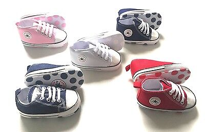Baby Toddler SHOES Crib Sneaker Infant Boy Girl Soft Sole All Star NEW converse