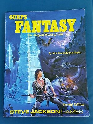 Gurps Fantasy: The Magical World Of Yrth, By Kirk Tate, Janet Naylor, PB, *new*