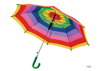 Drizzles Childs Striped Umbrella Assorted Designs