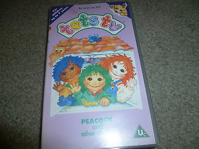 TOTS TV Peacock and other stories Kids childrens VHS VIDEO TAPE *336