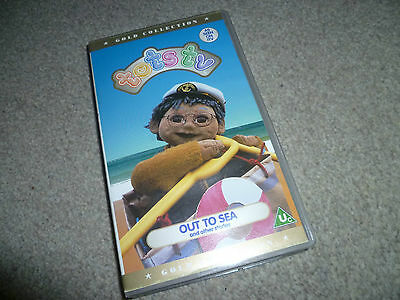 TOTS TV OUT TO SEA kids childrens video tape VHS *316