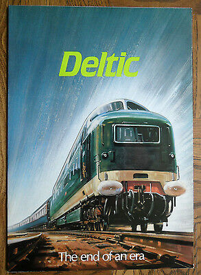 Deltic - The End of an Era  - Railway Booklet