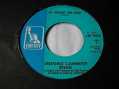 "Creedence Clearwater Revival - Up Around The Bend - Liberty 7"" Jukebox Ready"