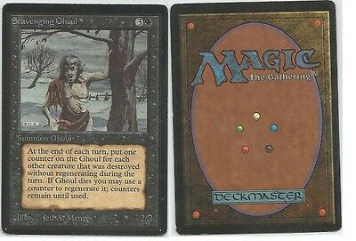 Scavenging Ghoul Beta Magic the Gathering International bidders are welcome