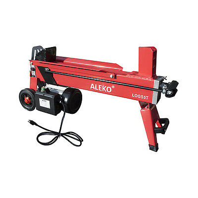 ALEKO Powerful 5 Ton Electric Hydraulic Portable Log Cutter Wood Splitter