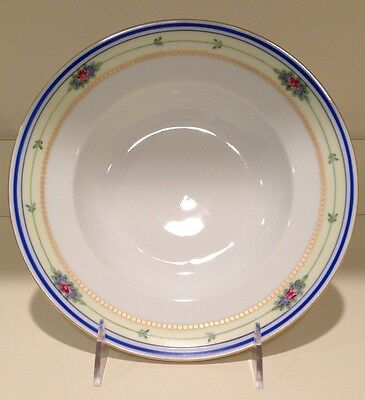 Hochst Hand-Painted Porcelain Floral Bowl (Large) Made in Germany New