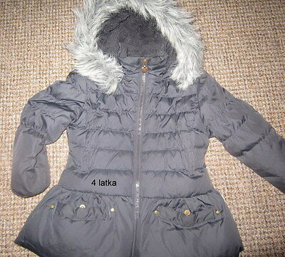 two winter jacket/coat girls 4-5 years